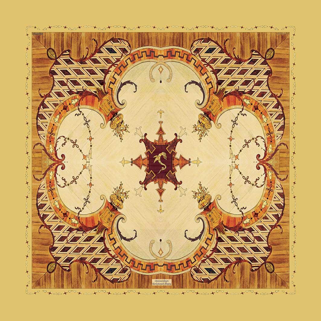 Шелковый платок. Наборные паркеты дворцов 18 века Петербурга